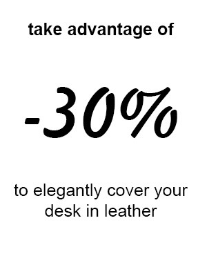 Leather insert for desk discount